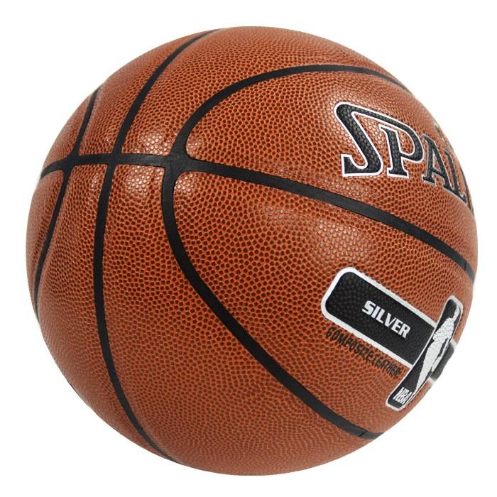 ║SPALDING║17'銀色NBA - PU-7號球