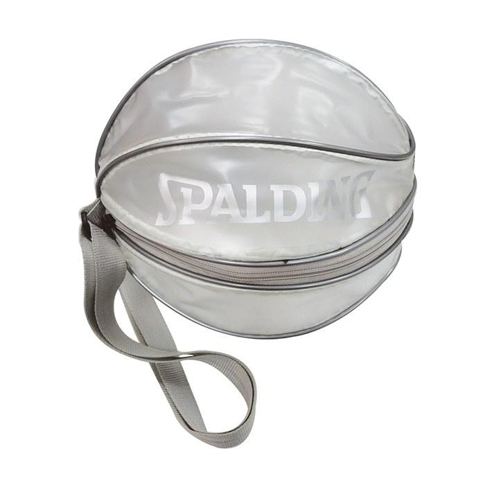 ║SPALDING║單顆裝籃球瓢蟲袋(銀) 1