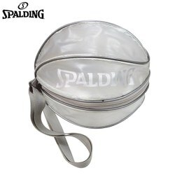 ║SPALDING║單顆裝籃球瓢蟲袋(銀)