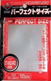 含稅附發票 KMC Perfect Size 透明卡套 100張 89*64mm 日本製內套第一層 牌套 魔法風雲會週邊 方舟風雲會益智桌遊 實體店