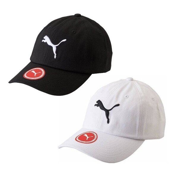 【PUMA】基本系列棒球帽 配件 休閒 黑/白 兩色 帽子 -05291901/05291902