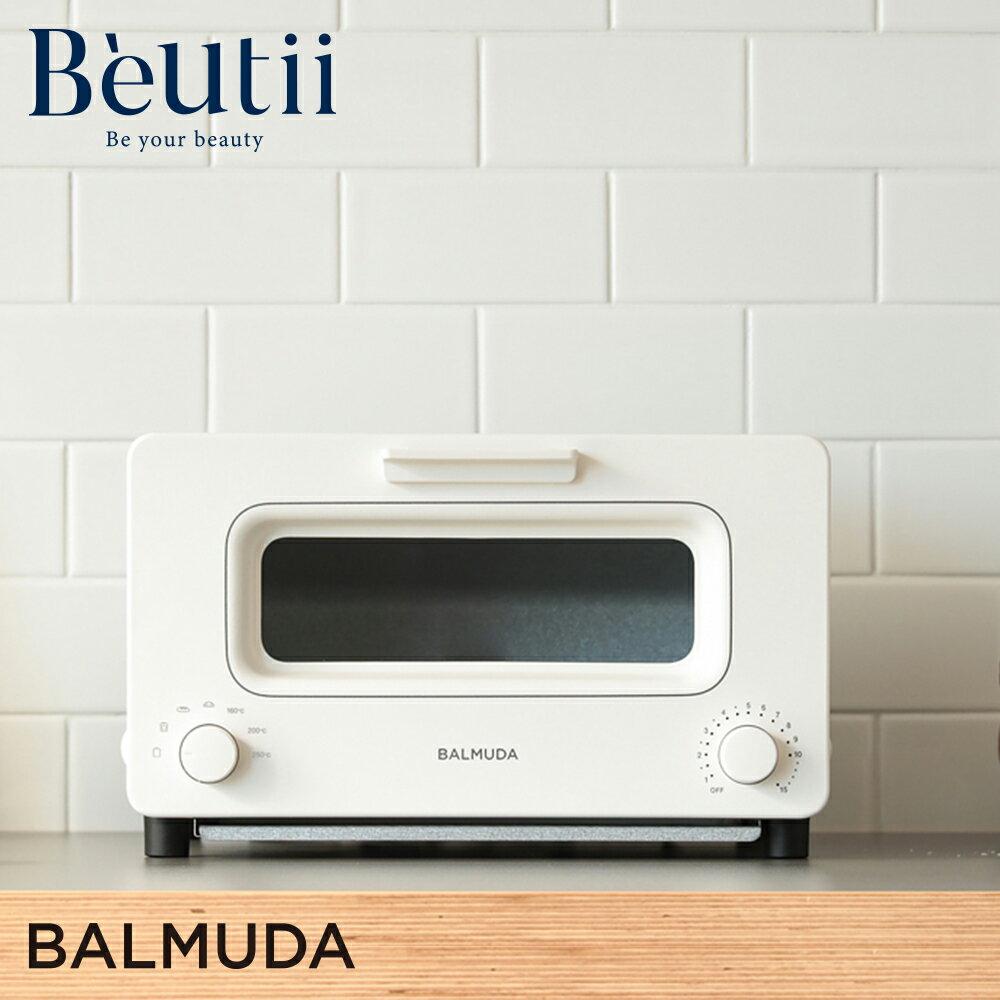 現省800|BALMUDA K01J-KG 蒸氣 烤麵包機 黑 白 K01J-KG 烤箱 百慕達 吐司神器