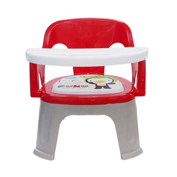 『121婦嬰用品館』PUKU Crocodile小鱷魚餐盤BB椅 - 紅 0