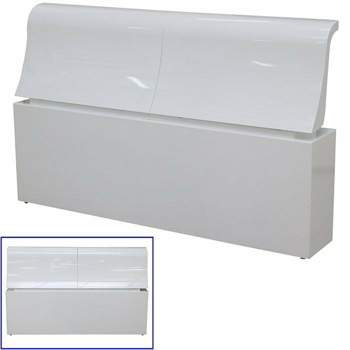 【尚品傢俱】802-02 雪芙 烤白5尺床頭~另有白橡色床頭/五尺床頭箱/伍尺床頭收納箱/臥室床頭置物箱/貯藏箱