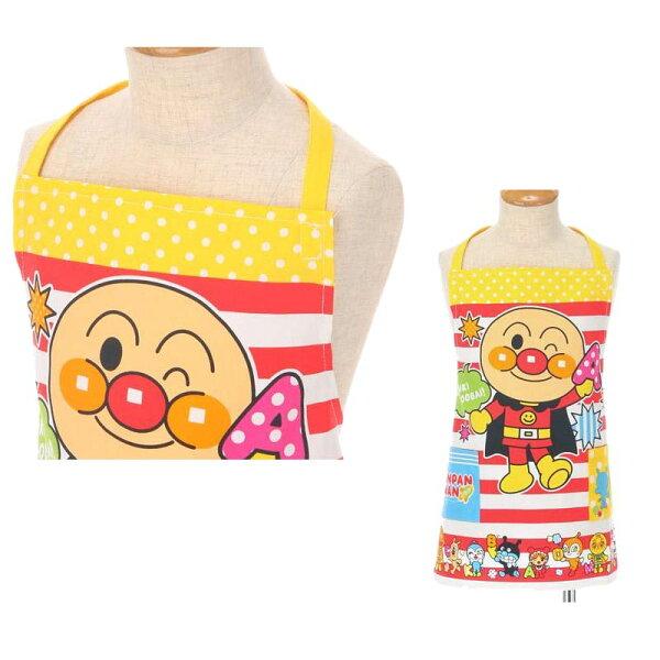 麵包超人圍裙圍兜工作服日本製正版商品110號