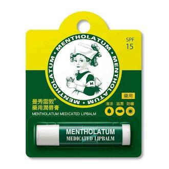 MENTHOLATUM曼秀雷敦 藥用護唇膏 3.5g [橘子藥美麗]