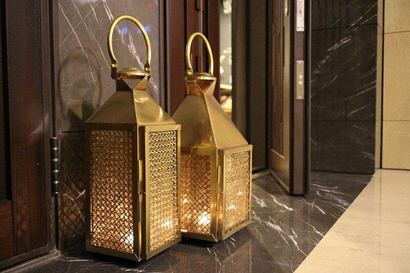 Upptäck Deco 萊佛士黃銅提燈 - 全兩個尺寸【7OCEANS七海休閒傢俱】 4
