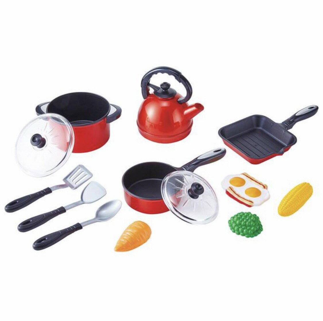 【台灣公司貨】FOOD超人-我是小廚師 趣味家家酒廚具玩具