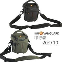 【中壢NOVA-水世界】Vanguard 精嘉 2GO 10 即行者 側背包 攝影旅遊包 斜背包 相機包 附防雨罩 微單