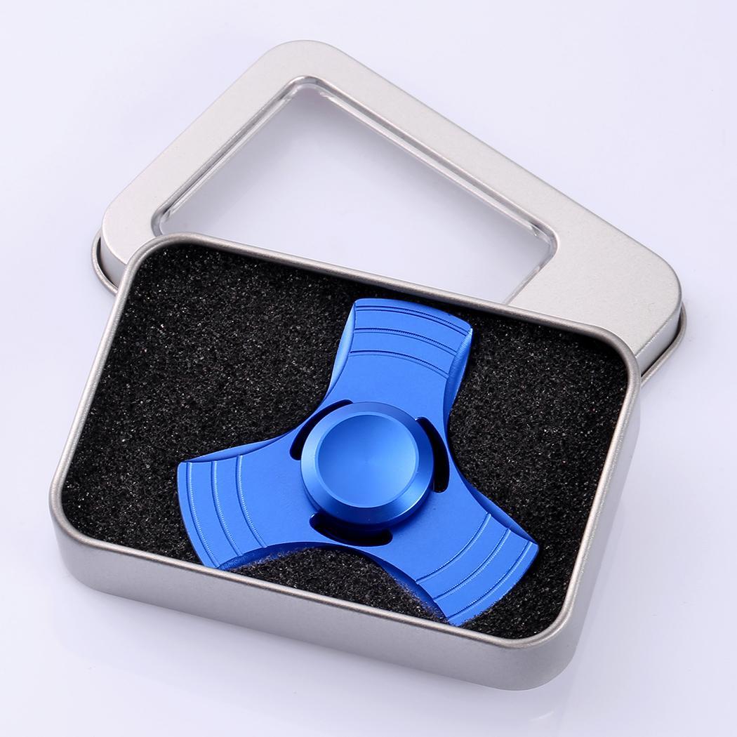 Glowing Hand Spinner 360 Tri Fidget Desk Stress Reducer EDC Focus Toy 1