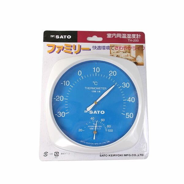 【醫康生活家】SATO 溫濕度計 TH-200