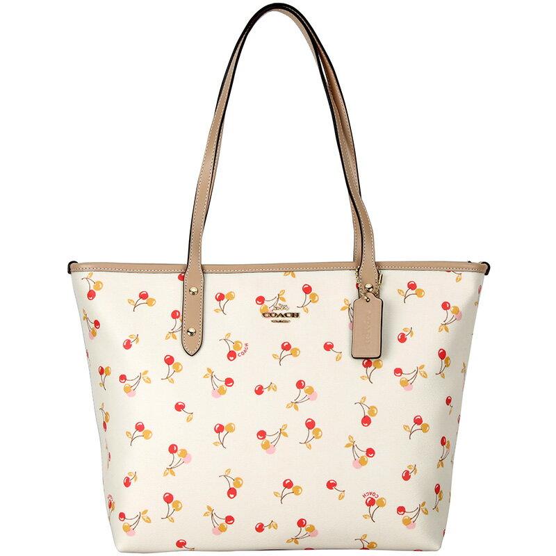 COACH F31971 女包女士手提單肩包托特包大容量購物袋tote包