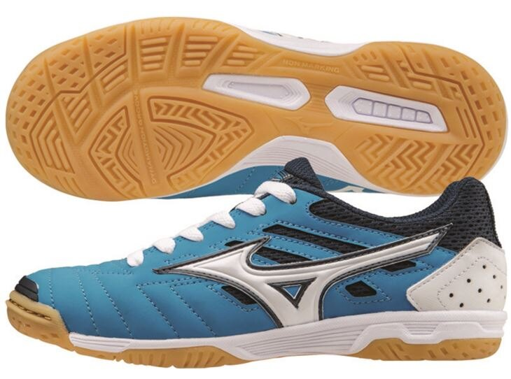 [陽光樂活=]MIZUNO 美津濃 兒童室內足球鞋 SALA CLASSIC 2 JR.橡膠底-Q1GC155227