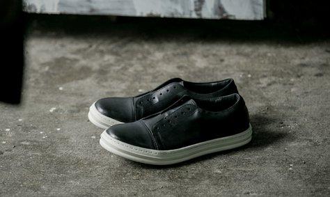 FINDSENSE MD 日系 高品質 時尚 潮 男 黑白 低幫 低跟休閒鞋 版鞋