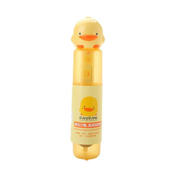 『121婦嬰用品館』黃色小鴨 造型匙筷組 0