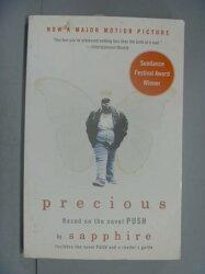 【書寶二手書T4/原文小說_NII】Precious: Based on the Novel Push_Sapphire
