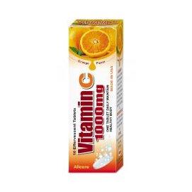 百健寶典維生素C1000發泡錠 橘子口味10錠