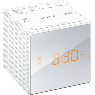 ::bonJOIE:: Sony ICF-C1 白色 單鬧鐘電子鬧鐘 (全新盒裝) Alarm Clock Radio ICFC1