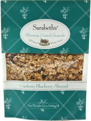 早餐穀麥片-蔓越莓藍莓口味340克即期品【Sarabeth's Kitchen】 0