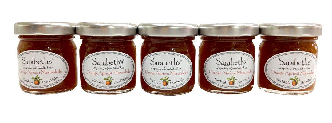 即期品-天然手工迷你果醬-杏桃口味 Orange Apricot【Sarabeth's Kitchen】 2