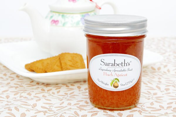 外損品-杏桃口味-天然手工果醬 Peach Apricot【Sarabeth's Kitchen】 0