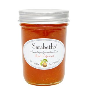 外損品-杏桃口味-天然手工果醬 Peach Apricot【Sarabeth's Kitchen】 1