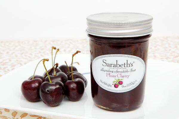 天然 果醬~櫻桃李子口味 Plum Cherry~Sarabeth  ^#27 s Kit