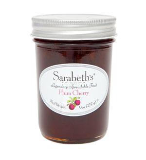 外損品-櫻桃李子口味-天然手工果醬 Plum Cherry【Sarabeth's Kitchen】 1