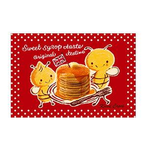 請享用鬆餅!【卡雷爾恰佩克Karel Capek 】-山田詩子/手繪明信片