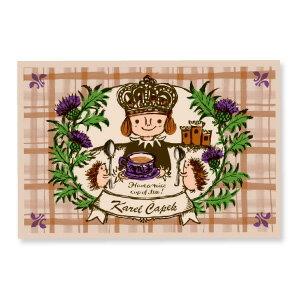 Prince of milk tea【卡雷爾恰佩克Karel Capek 】-山田詩子/手繪明信片