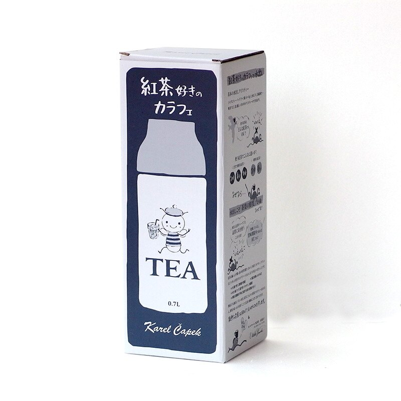 玻璃水瓶-Buzzy【卡雷爾恰佩克Karel Capek 】山田詩子 / 泡茶道具★ 4