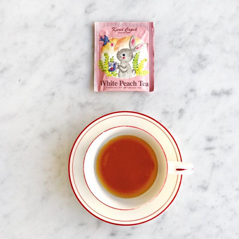 白桃茶罐裝2克*8包-【卡雷爾恰佩克Karel Capek 】山田詩子 / 風味茶 / 茶葉★ 1