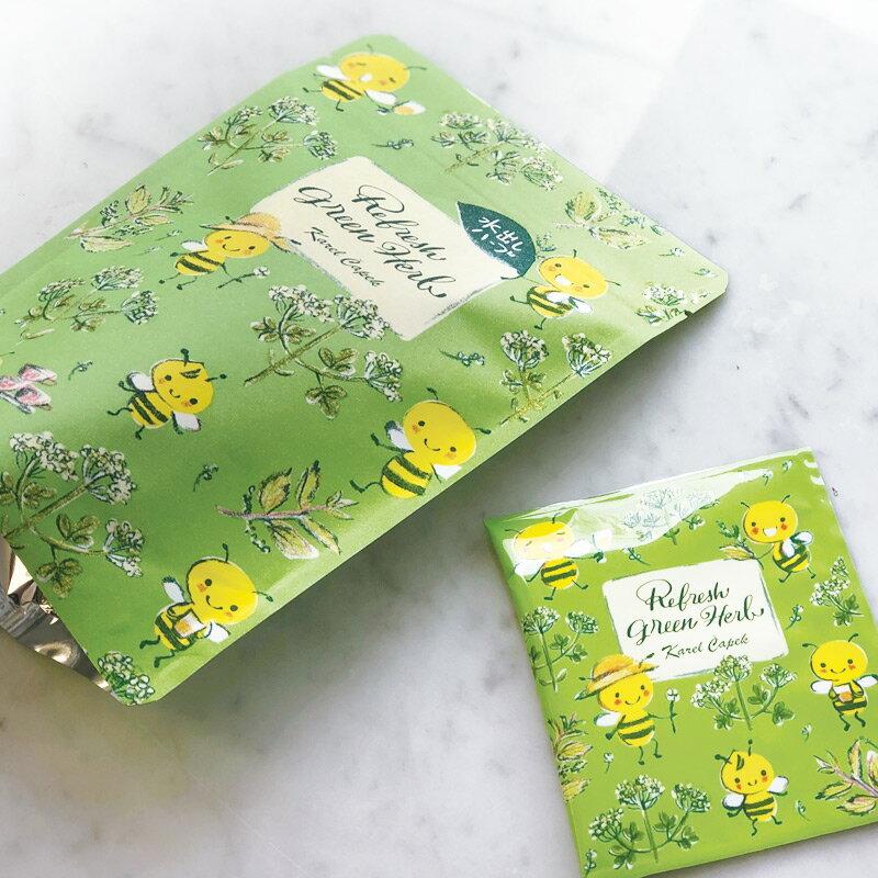 Refresh Green Herb-花草茶茶包組1.5g*5入【卡雷爾恰佩克Karel Capek 】山田詩子 / 紅茶 / 茶包 2
