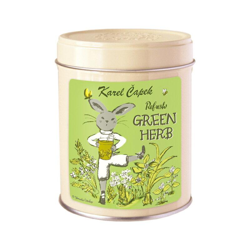 <br/><br/>  Refresh Green花草茶茶包組冷/熱泡用2g*8入-【卡雷爾恰佩克Karel Capek 】山田詩子/紅茶/茶包<br/><br/>