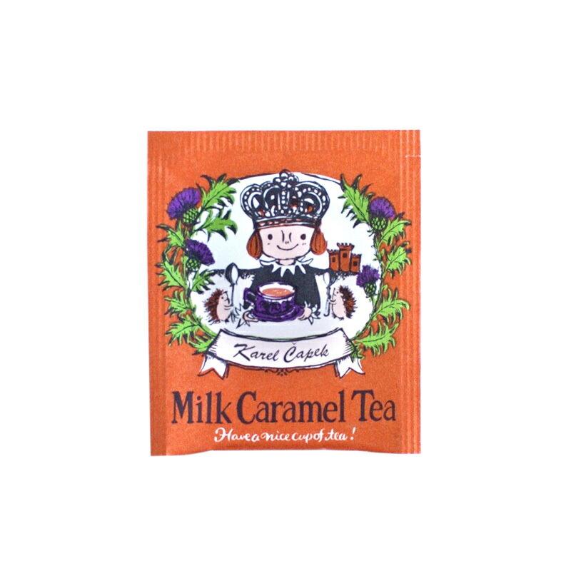 焦糖奶茶20入茶包組-【卡雷爾恰佩克Karel Capek 】山田詩子 / 紅茶 / 季節紅茶 2
