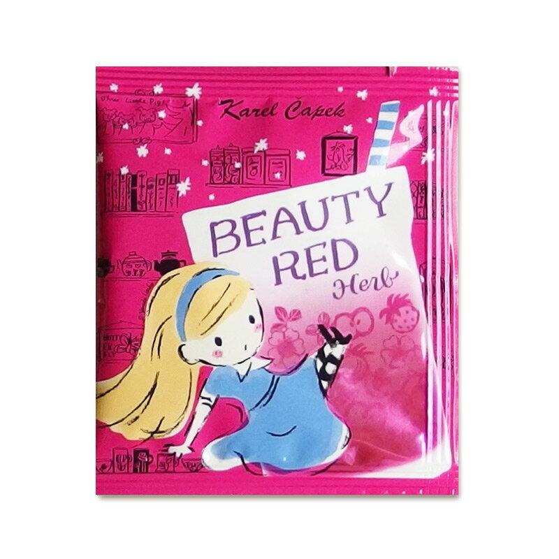BEAUTY RED HERB-杯用茶包組2g*5入【卡雷爾恰佩克Karel Capek 】山田詩子 / 紅茶 / 茶包 0