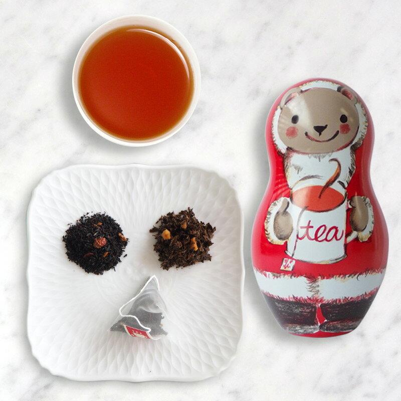 18年聖誕快樂茶1.5g*8入-【卡雷爾恰佩克Karel Capek 】山田詩子 / 紅茶 / 禮盒 4