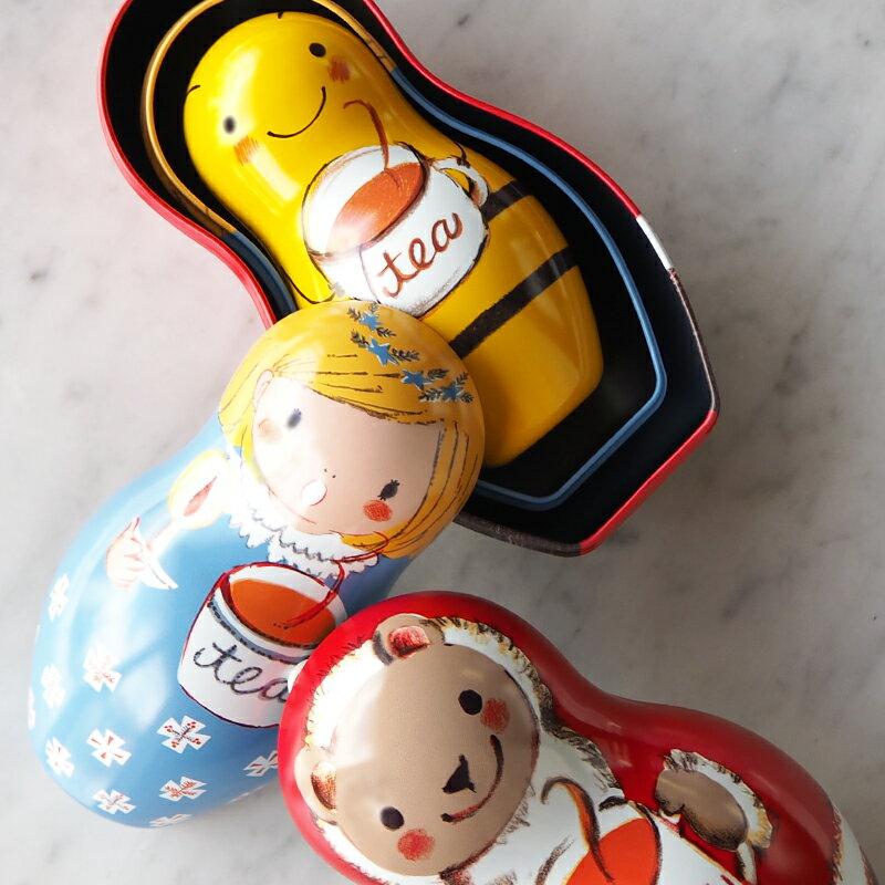 18年聖誕快樂茶1.5g*8入-【卡雷爾恰佩克Karel Capek 】山田詩子 / 紅茶 / 禮盒 6