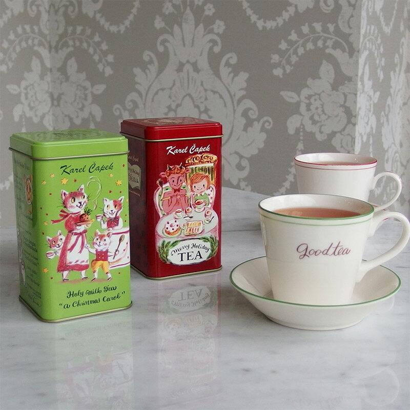 17年耶誕茶1.5g*8入-【卡雷爾恰佩克Karel Capek 】山田詩子 / 紅茶 / 禮盒 4