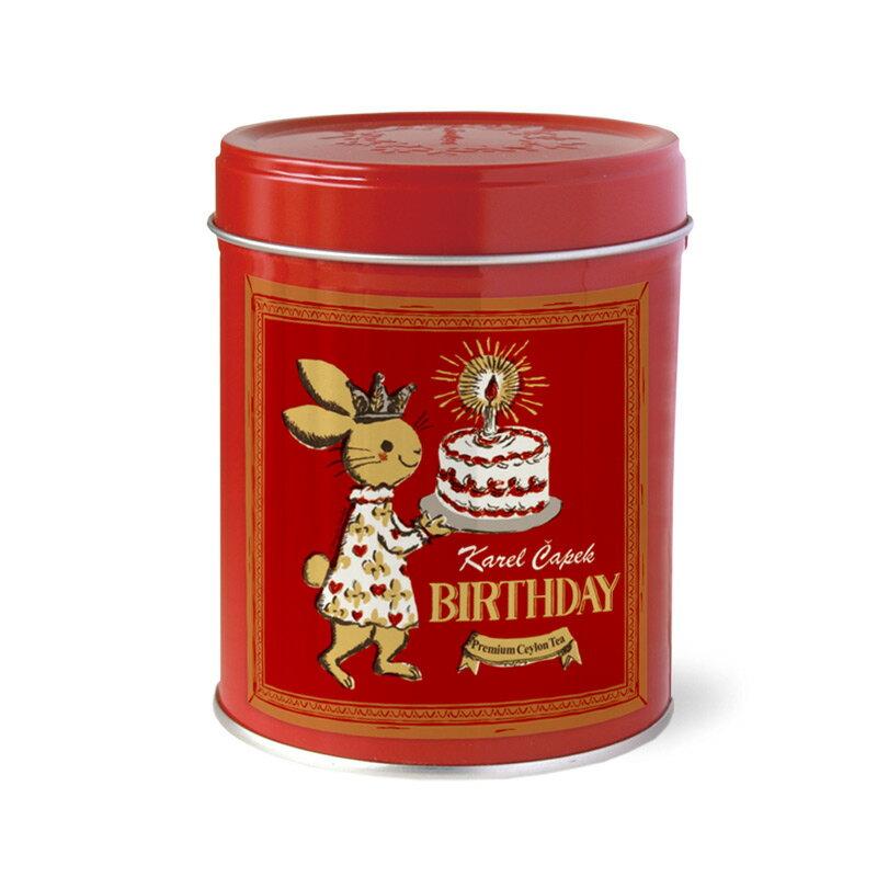 BIRTHDAY-創業30周年紀念茶罐組1.5g*8包-【卡雷爾恰佩克Karel Capek 】山田詩子 / 紅茶 / 禮盒 0