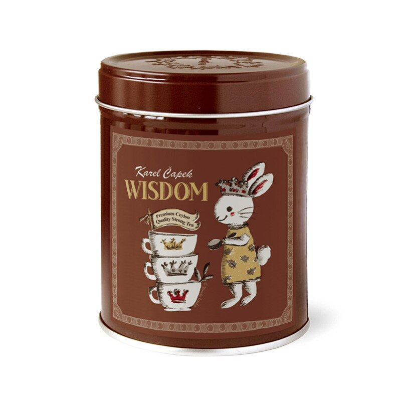 WISDOM-創業30周年紀念茶罐1.5g*8包-【卡雷爾恰佩克Karel Capek 】山田詩子 / 紅茶 / 禮盒 0
