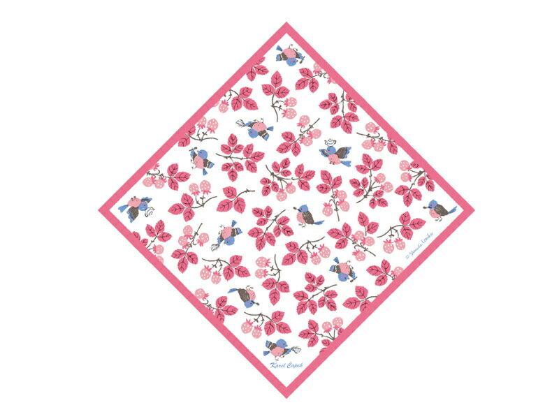 迷你手帕茶包組5入-小鳥與草莓【卡雷爾恰佩克Karel Capek 】山田詩子 / 紅茶 / 茶包★ 1