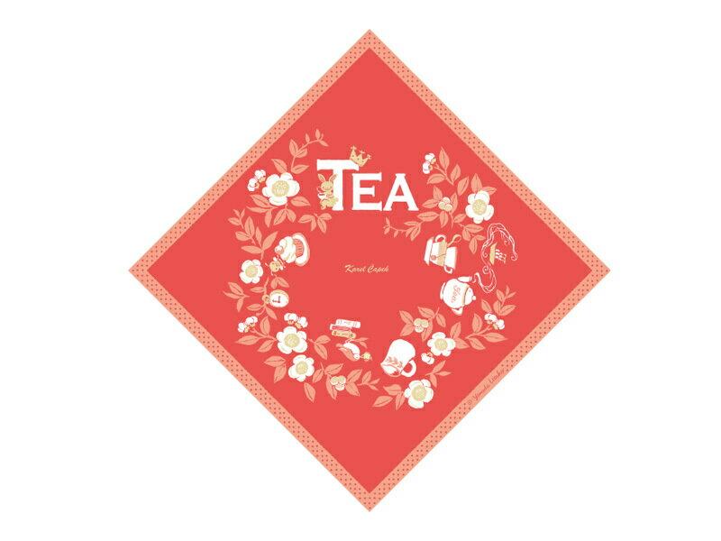 迷你手帕茶包組5入-兔子與紅茶【卡雷爾恰佩克Karel Capek 】山田詩子 / 紅茶 / 茶包★ 1