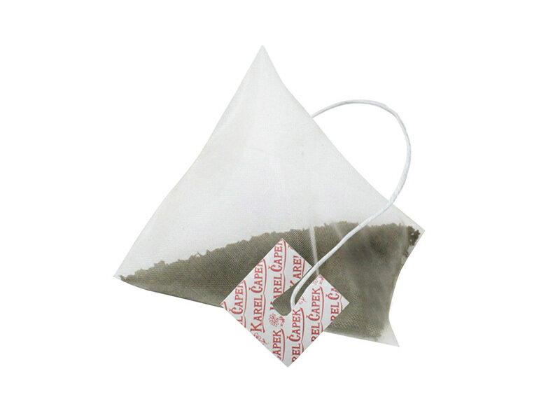迷你手帕茶包組5入-小鳥與草莓【卡雷爾恰佩克Karel Capek 】山田詩子 / 紅茶 / 茶包★ 5