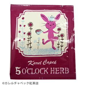 下午茶茶包組5入即期品-【卡雷爾恰佩克Karel Capek 】山田詩子/花草茶/茶包