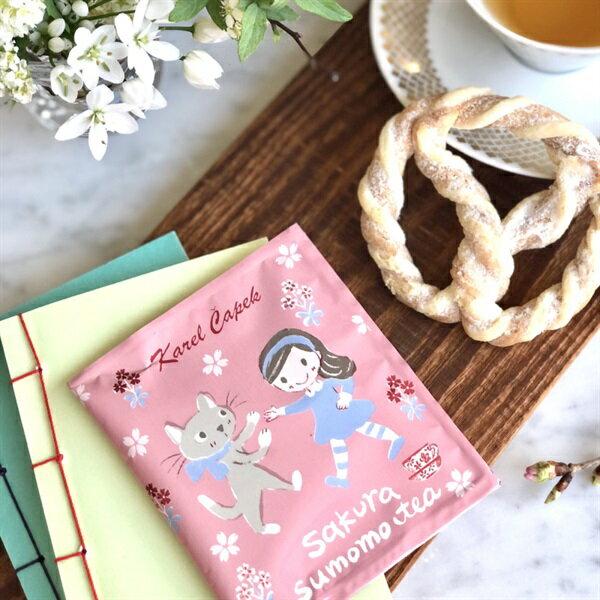櫻花茶茶包組5入-【卡雷爾恰佩克Karel Capek 】山田詩子/紅茶/茶包