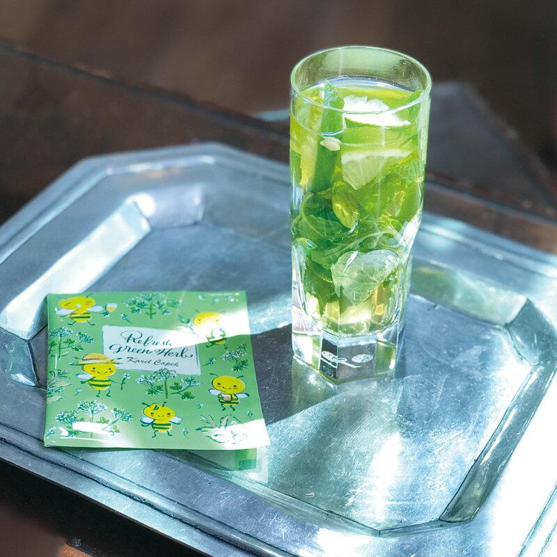 Refresh Green Herb-花草茶茶包組1.5g*5入【卡雷爾恰佩克Karel Capek 】山田詩子 / 紅茶 / 茶包 1