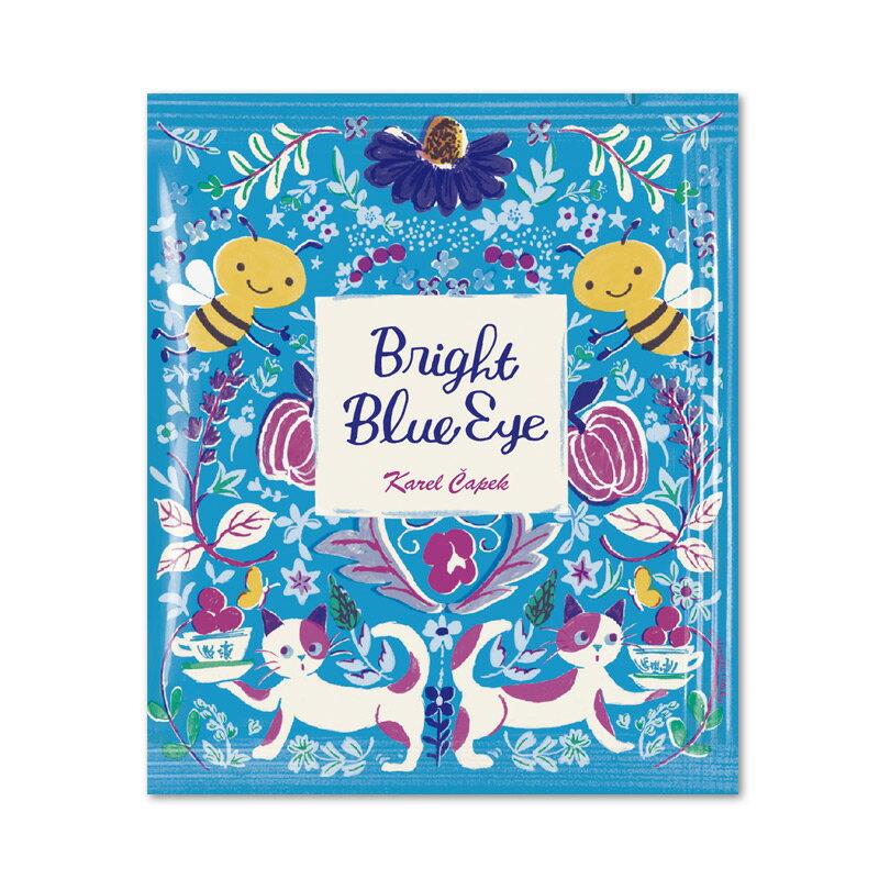 Bright Blue Eye-花草茶茶包組1.5g*5入【卡雷爾恰佩克Karel Capek 】山田詩子 / 紅茶 / 茶包 0
