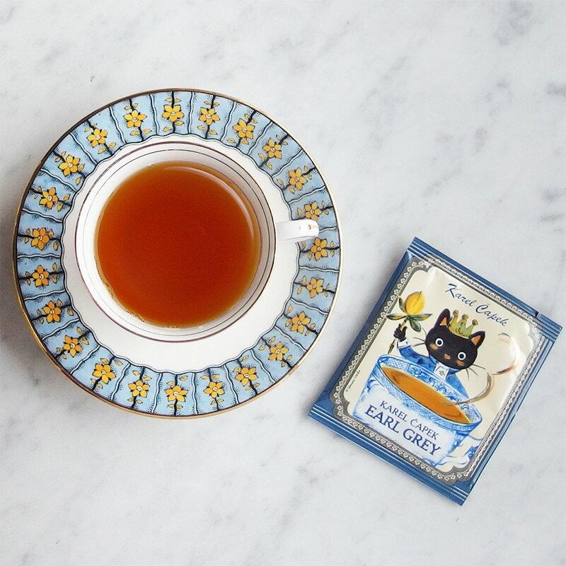 伯爵茶 茶包組5入-【卡雷爾恰佩克Karel Capek 】山田詩子 / 紅茶 / 茶包 1