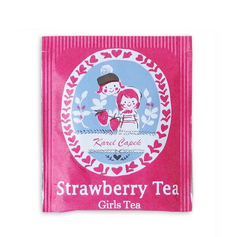 草莓茶20入茶包組-【卡雷爾恰佩克Karel Capek 】山田詩子 / 紅茶 / 季節紅茶 1